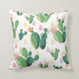 Almohada preciosa suculenta linda del cactus