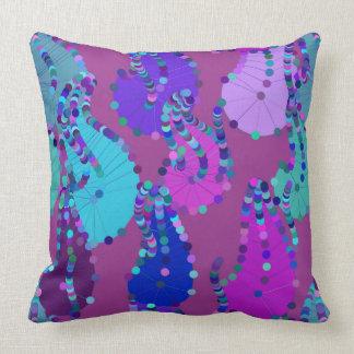 Almohada púrpura loca de Paisley