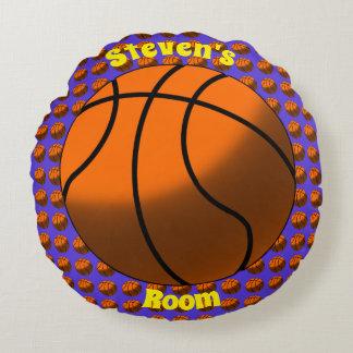 Almohada redonda del baloncesto