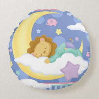 Almohada redonda del bebé de los sueños dulces cojín redondo