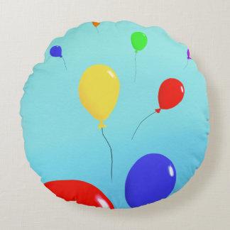 Almohada redonda del globo