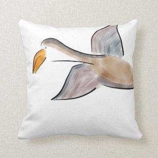 Almohada reversible del algodón del ganso de la