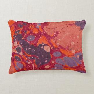 Almohada rosada y púrpura del extracto del