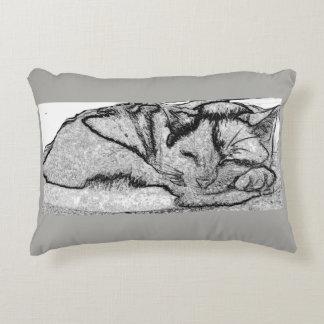 Almohada soñolienta del gatito