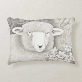 Almohada suave reversible de las ovejas y de la