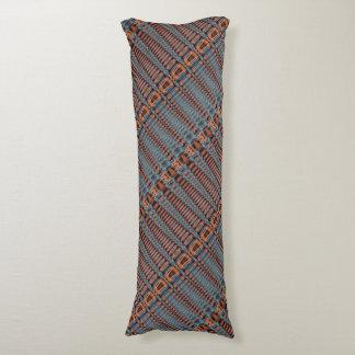 Almohada tribal del cuerpo de la armadura de cesta