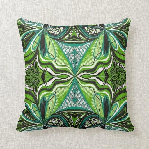 Almohada verde africana
