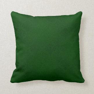 Almohada verde del damasco