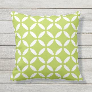 Almohadas al aire libre de la verde lima - Tuva