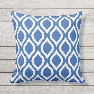Almohadas al aire libre del azul de cobalto -