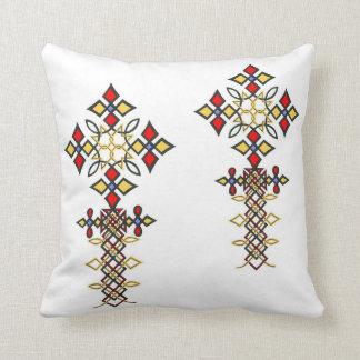 Almohadas cruzadas etíopes