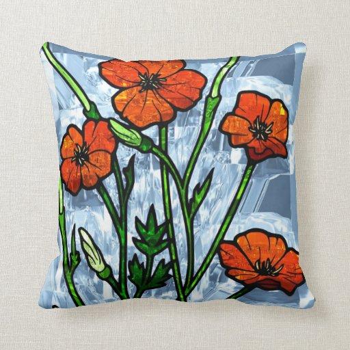 Almohadas de la decoración 40 de la flor