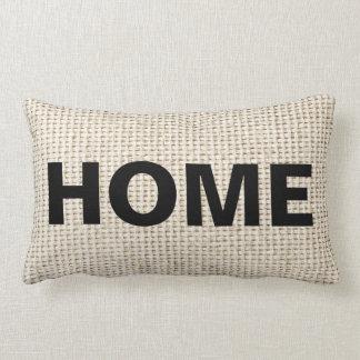 Almohadas de la decoración del hogar de la mirada