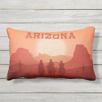 Almohadas de tiro de la puesta del sol de Arizona