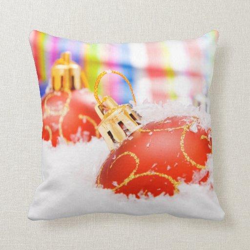Almohadas de tiro de las decoraciones del navidad