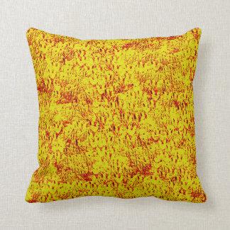 Almohadas Decoración-Suaves amarillas estéticas