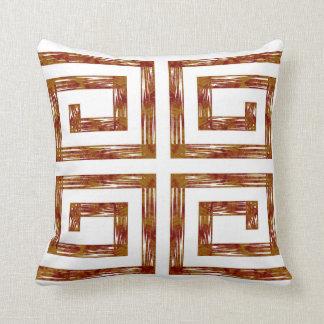 Almohadas Decoración-suaves blancas de torneado de