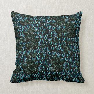 Almohadas Decoración-Suaves de los azules