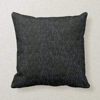 Almohadas Decoración-Suaves oscuras simuladas