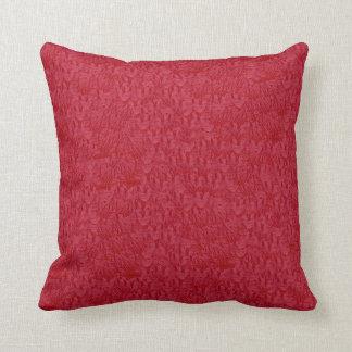 Almohadas Decoración-Suaves rojizas simuladas ante