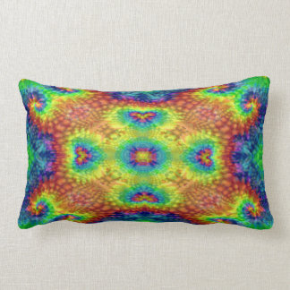 Almohadas del Lumbar del modelo del caleidoscopio