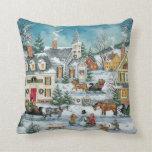 Almohadas del navidad del Victorian