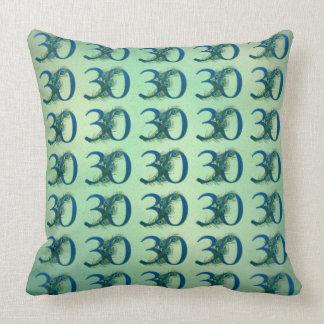 Almohadas del número 30