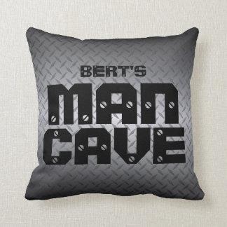 Almohadas personalizadas de la cueva del hombre de