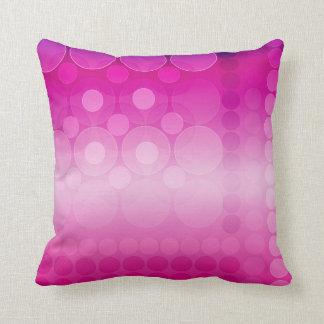 Almohadas rosadas ideales modernas de los amortigu
