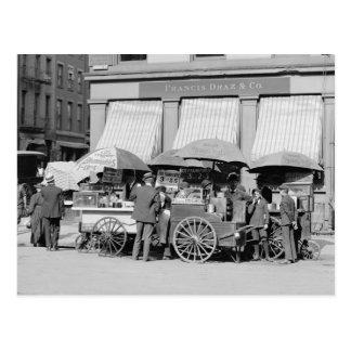 Almuerzo Carts, 1906 de New York City Postal