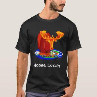 Almuerzo de los alces camiseta