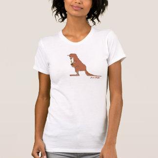 Almuerzo de saco (ningún título) (para mujer) camisetas