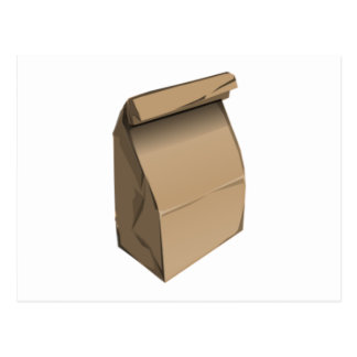 Almuerzo de saco postales
