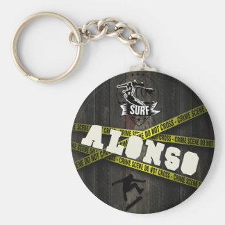 ALONSO - Skater Style Llavero