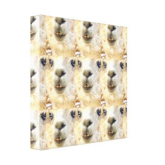 Alpaca en todos lados lienzo