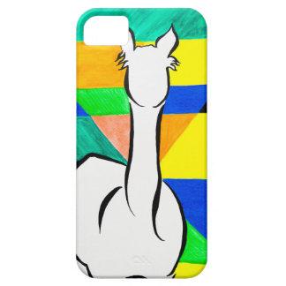 Alpaca enrrollada funda para iPhone SE/5/5s
