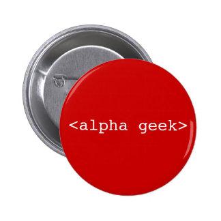 <alpha geek> chapa redonda 5 cm
