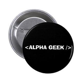 ALPHA GEEK PIN