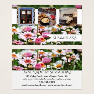 Alquiler de la cabaña del verano o tarjeta de