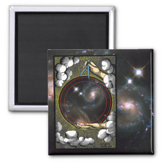 Alquimia cósmica - imán #1