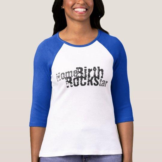Alquitrán del hogar (rocas del nacimiento) camiseta