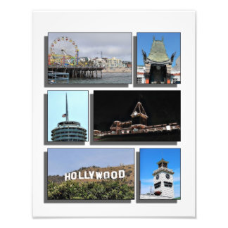Alrededor de Los Ángeles Impresión Fotográfica