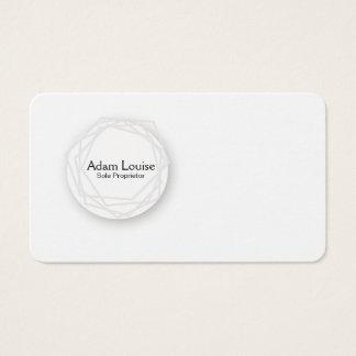 alrededor del globo tarjeta de negocios
