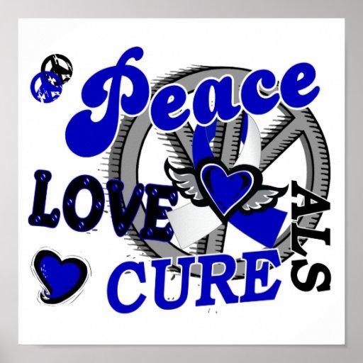 ALS de la curación 2 del amor de la paz Impresiones