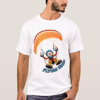 Alta camisa de Paramotor que vuela