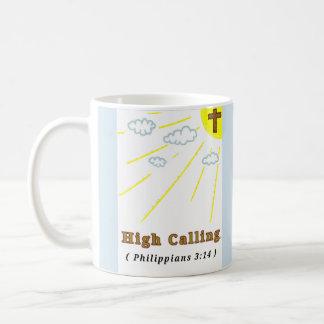 Alta llamada (taza) taza de café