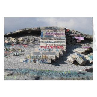 Alta roca - cascada tarjeta
