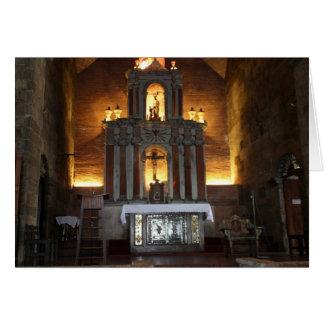 Altar de San José, ciudad de Las Piñas Tarjeta De Felicitación
