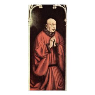 Altar del altar de Gante del cordero místico dejad Lona Personalizada