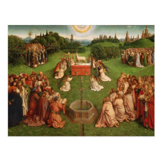 Altarpiece de Gante Postal